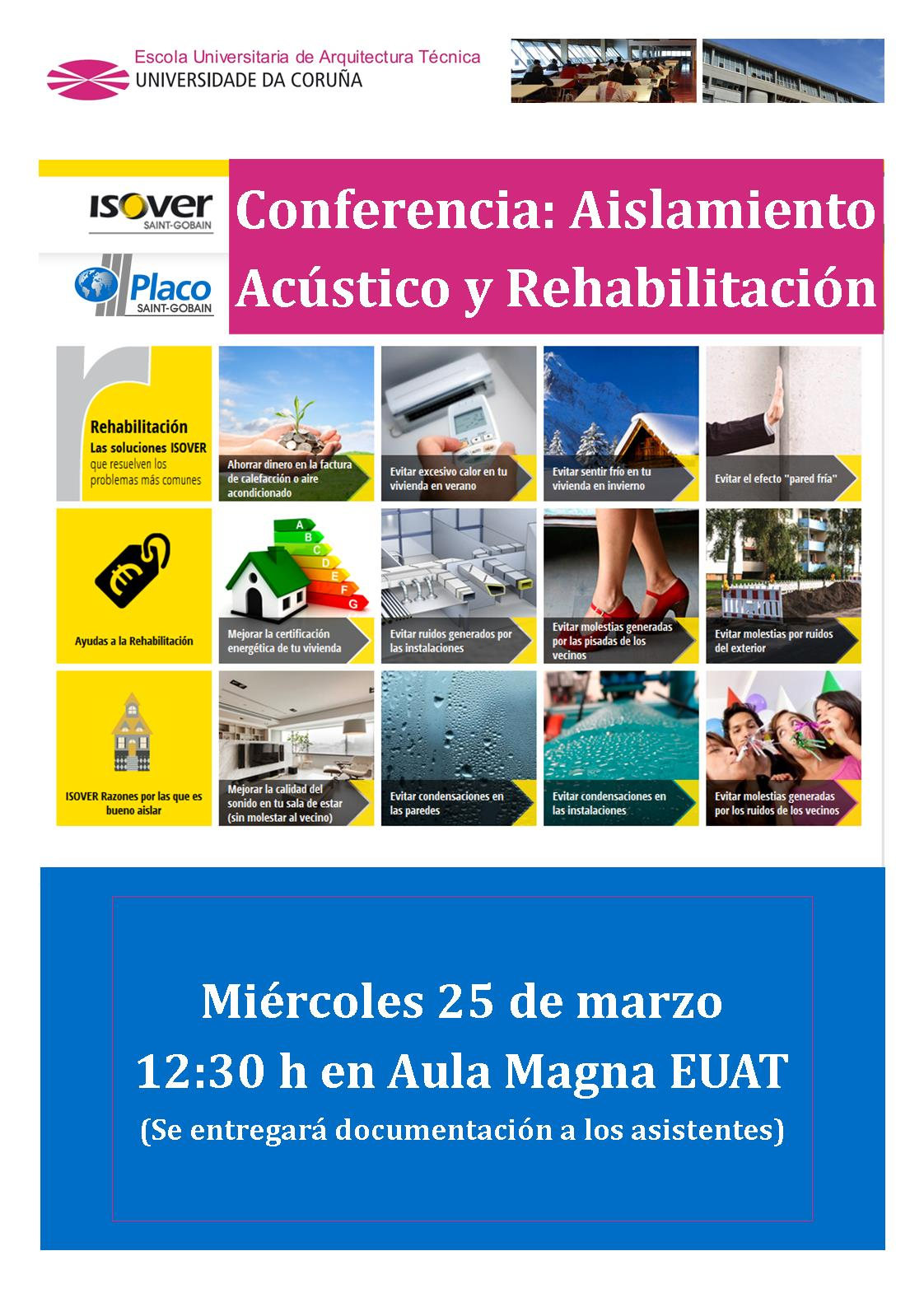 cartel conferencia isover